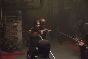 Elektra Natchios (Earth-199999) and Matthew Murdock (Earth-199999) from Marvel's Daredevil Season 2 12