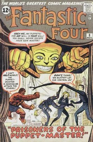Fantastic Four Vol 1 8 Vintage