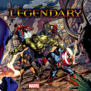Legendary A Marvel Deck Building Game Cover