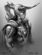 Loki Laufeyson (Earth-199999) from Thor (film) Concept Art 0005