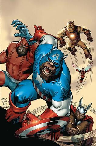 File:Marvel Apes Vol 1 0 Textless.jpg