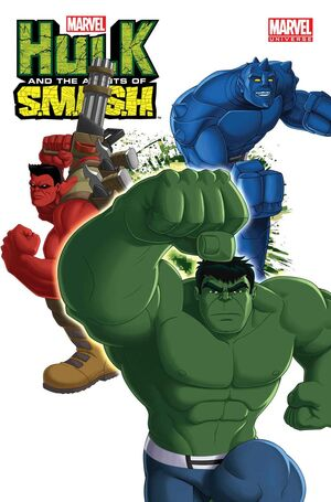 Marvel Universe Hulk and the Agents of S.M.A.S.H. Vol 1 1 Solicit