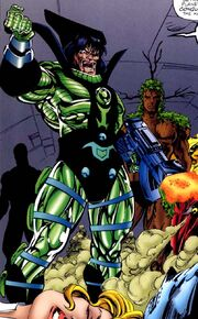 Maximus (Earth-616) triumphant from Fantastic Four Atlantis Rising Vol 1 1