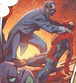 Peter Parker (Earth-25315) from Captain Britain and the Mighty Defenders Vol 1 1 0001