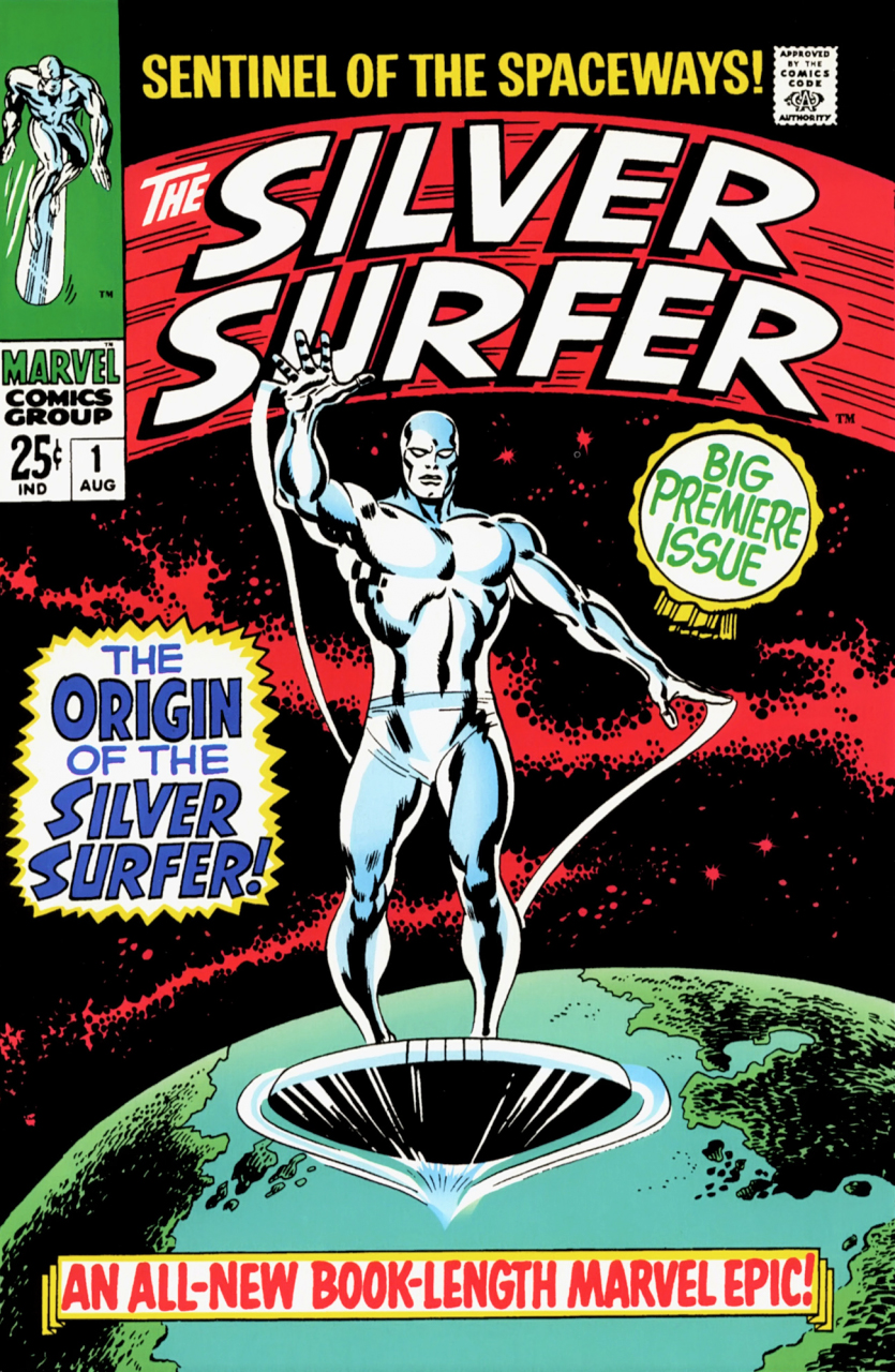 Image result for silver surfer first issue