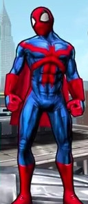 The Amazing Spider (Peter Parker) from Spider-Man Unlimited (Video Game) 0001