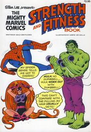 The Mighty Marvel Comics Strength and Fitness Book Vol 1 1