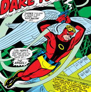 Warren Worthington III (Earth-616) as the Avenging Angel from X-Men Vol 1 55