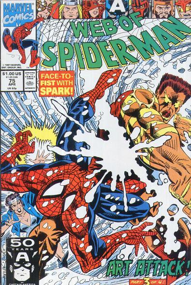 Web of Spider-Man Vol 1 75