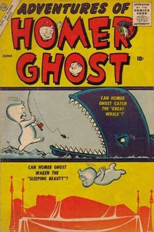Adventures of Homer Ghost Vol 1 1