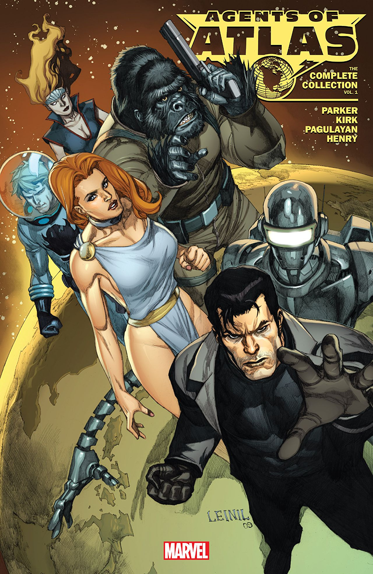 Agents of Atlas: The Complete Collection Vol 1 1   Marvel Database