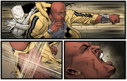 Ava Ayala (Earth-616) and Luke Cage (Earth-616) from Mighty Avengers Vol 2 7