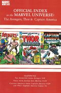 Avengers, Thor & Captain America Official Index to the Marvel Universe Vol 1 2