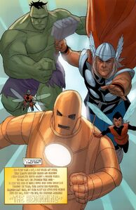 Avengers (Earth-616) from Avengers The Origin Vol 1 5 001