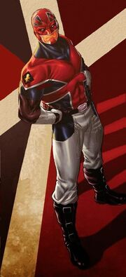 Brian Braddock (Earth-616) from Revolutionary War Alpha Vol 1 1 0001