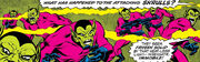 Deviant Skrulls from Avengers Vol 1 97