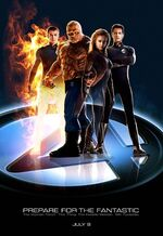 Fantastic Four (film) poster 001