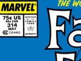 Fantastic Four Vol 1 314