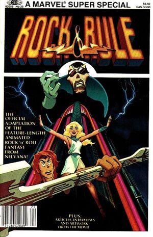 Marvel Comics Super Special Vol 1 25