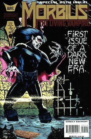 Morbius The Living Vampire Vol 1 25