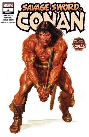 Savage Sword of Conan Vol 2 2