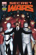 Secret Wars Vol 1 6 Midtown Comics Variant