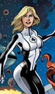 Susan Storm (Earth-616) from Fantastic Four Vol 4 1 cover