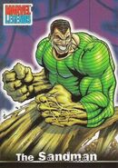 William Baker (Earth-616) from Marvel Legends (Trading Cards) 0001