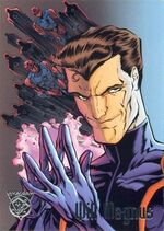 William Magnus (Earth-9602) and Sentinels from Amalgam Comics (Trading Card) 0001