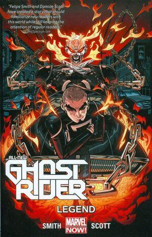 All-New Ghost Rider TPB Vol 1 2 Legend