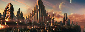 Asgard (City) from Thor (film) 0001