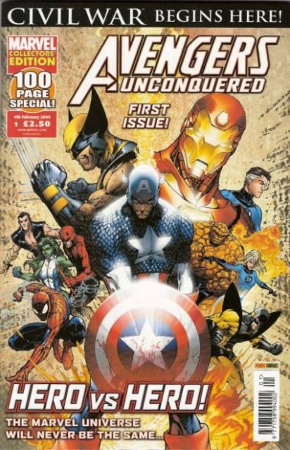Avengers Unconquered Vol 1 1