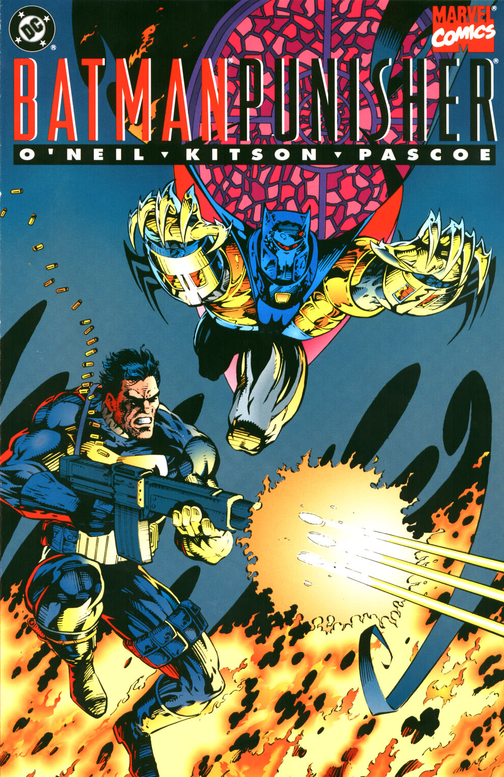 Batman and Punisher: Lake of Fire Vol 1 1 | Marvel Database