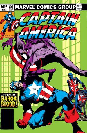 Captain America Vol 1 254