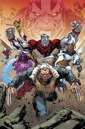 Extraordinary X-Men Vol 1 8 Lashley Connecting Variant Textless