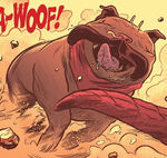 Lockjaw (Earth-51920) from Secret Wars Battleworld Vol 1 3 0001