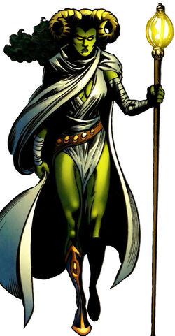 Margali Szardos (Earth-616) from All-New Official Handbook of the Marvel Universe Vol 1 7 0001