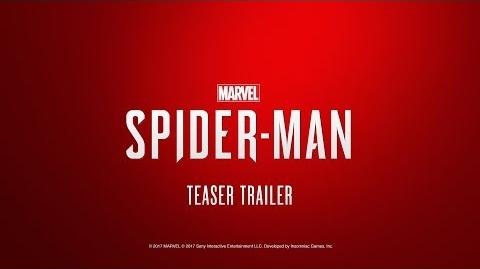 Marvel's Spider-Man (PS4) 2017 PGW Teaser Trailer