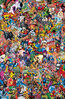 Marvel Comics Vol 1 1000 Collage Variant Textless