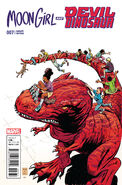 Moon Girl and Devil Dinosaur Vol 1 7 Classic Variant