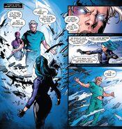 Nomi Blume (Earth-1610) vs. Max Eisenhardt (Earth-616) from X-Men Blue Vol 1 27 001