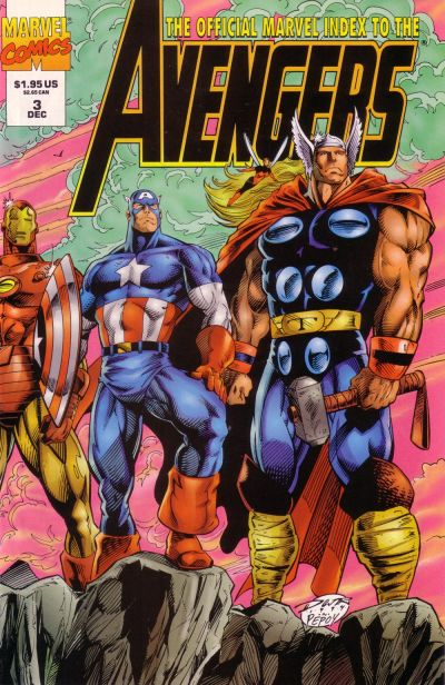 Official Marvel Index to Avengers Vol 2 3