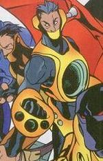 Riot (Heavy Mettle) (Earth-616) from New Warriors Vol 2 4 001