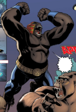 Ron Reyna (Earth-38831) from Marvel Apes- Grunt Line Vol 1 1