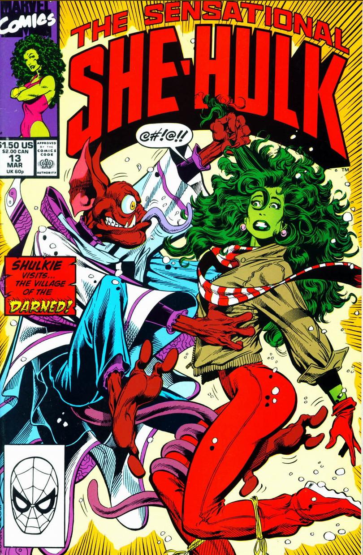 Sensational She-Hulk Vol 1 13