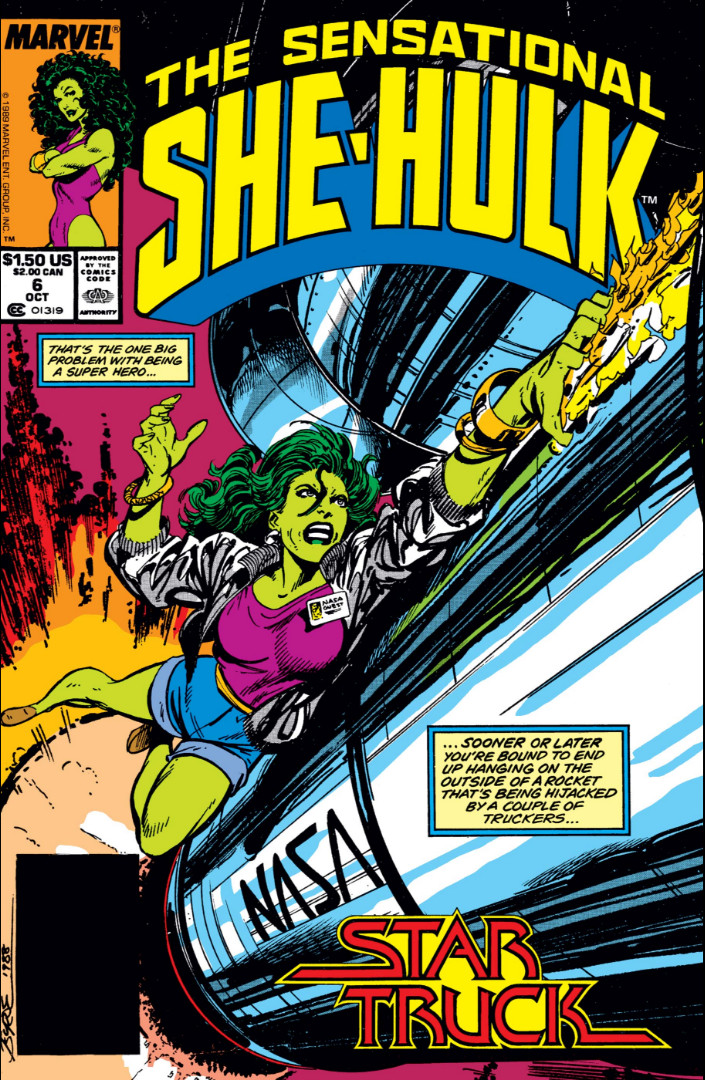 Sensational She-Hulk Vol 1 6