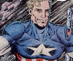 Steven Rogers (Impersonator) (Earth-928) from Doom 2099 Vol 1 33 001
