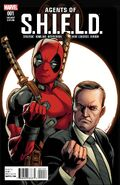 Agents of S.H.I.E.L.D. Vol 1 1 Deadpool Variant