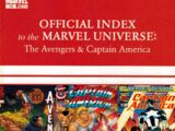 Avengers, Thor & Captain America: Official Index to the Marvel Universe Vol 1 13