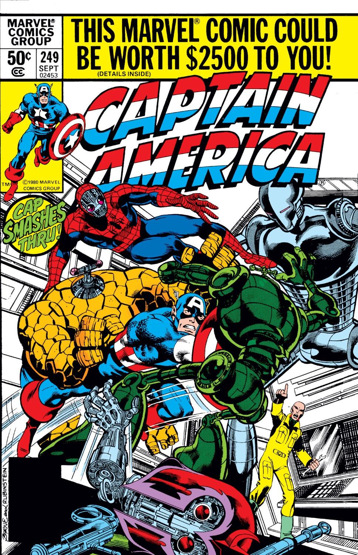 Resultado de imagem para Captain America (1968) n° 249 /1980